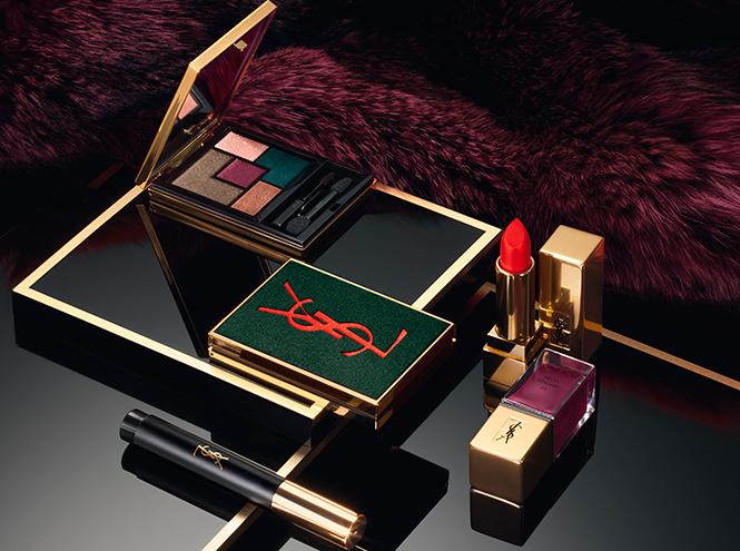 Фото №2 - Scandal'ная и дерзкая: новая коллекция макияжа YSL