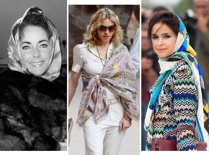 Фото №1 - Все гладко: как мир влюбился в шелковые платки Hermès