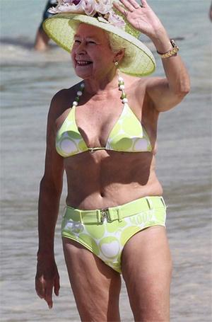Фото №6 - Королевский пляж: плавки и бикини монарших особ