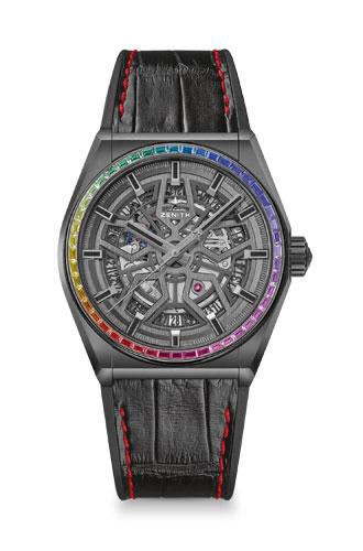 Фото №3 - Радужное настроение: Zenith выпустили новую модель Defy Classic Rainbow