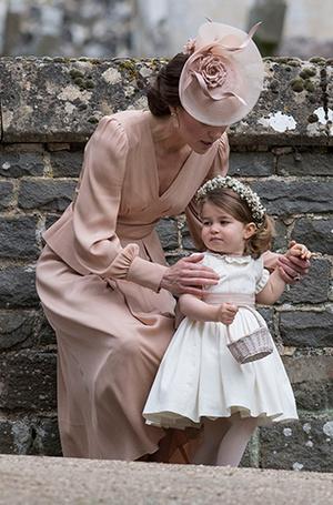 Фото №9 - Принцесса Шарлотта и принц Джордж на свадьбе Пиппы Миддлтон (фото)
