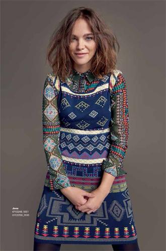 Фото №12 - Модная эклектика в новой осенне-зимней коллекции Desigual