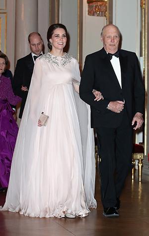 Фото №25 - Кейт Миддлтон и принц Уильям в Норвегии: день первый