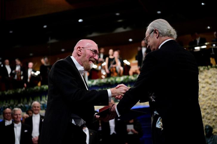 Фото №1 - В Стокгольме состоялась церемония вручения Нобелевской премии