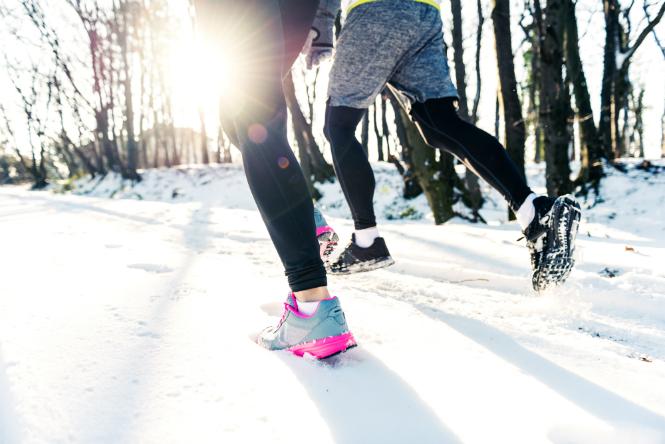 Фото №2 - Скользкая дорожка: особенности зимних outdoor-тренировок