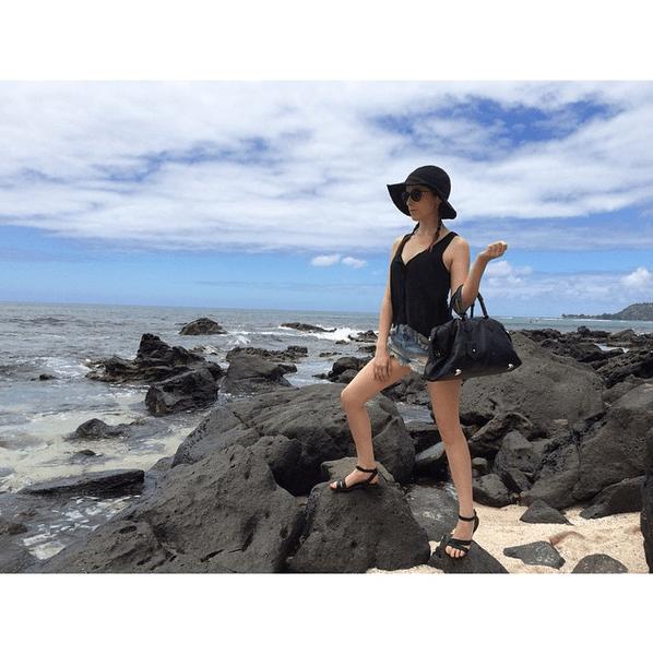 Фото №3 - Звездный Instagram: Знаменитости на море