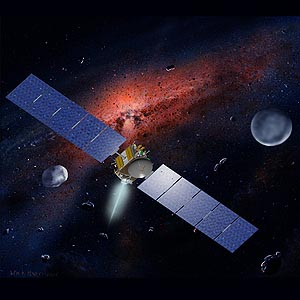 Фото №1 - Первая попытка отправить зонд к астероидам состоится завтра