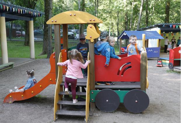 Фото №1 - Столичные детские сады возобновили работу с 23 июня