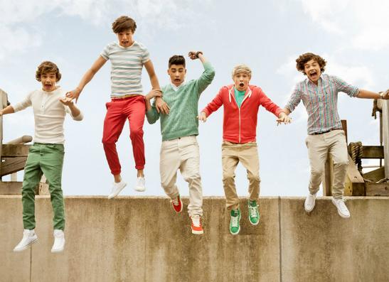 Фото №1 - Участники One Direction скрываются от фанаток на яхте