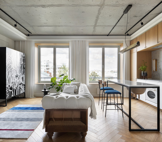 Фото №2 - Арт-квартира в центре Москвы 44 м²