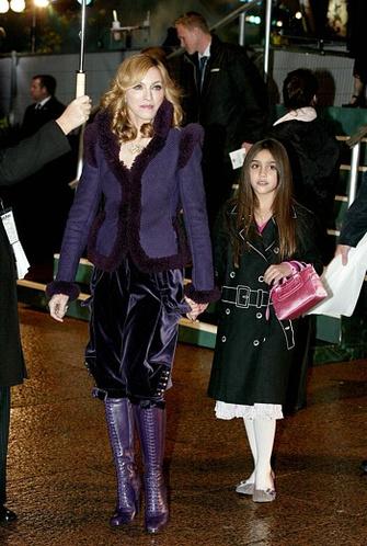 Мадонна (Madonna) c дочерью Лурдес