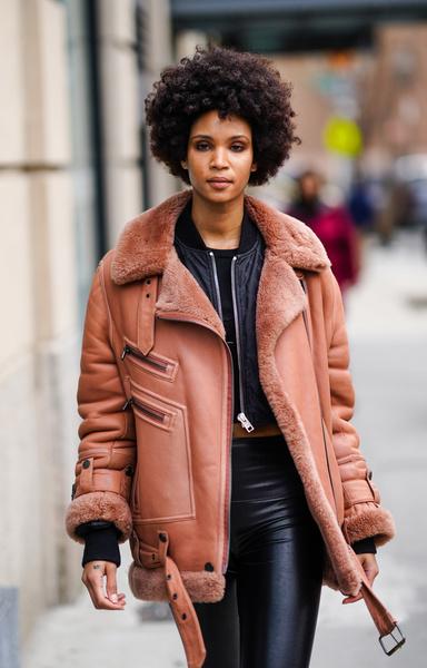 Версия куртки «пилот» на New York Fashion Week Fall Winter 2020