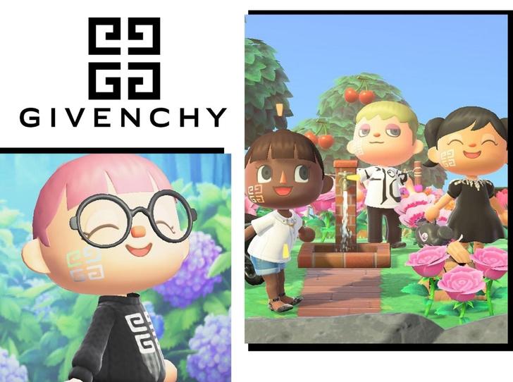 Фото №1 - Parfums Givenchy создали бьюти-образы для героев игры «Animal Crossing»