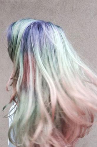 Фото №8 - Бьюти-тренд: разноцветные волосы