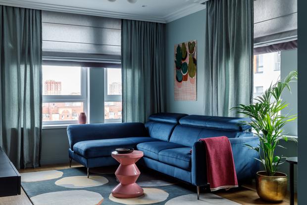 Фото №4 - Всплеск цвета: яркая квартира 81,6 м²