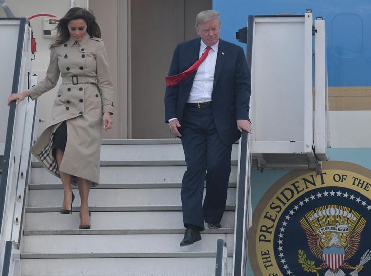 Фото №3 - Звездный час Мелании Трамп: как Первая леди США проявила себя на саммите НАТО