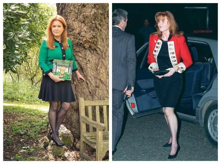 Фото №1 - Мини для герцогини: в Сети обсуждают смелый (и весьма неожиданный) образ Сары Фергюсон