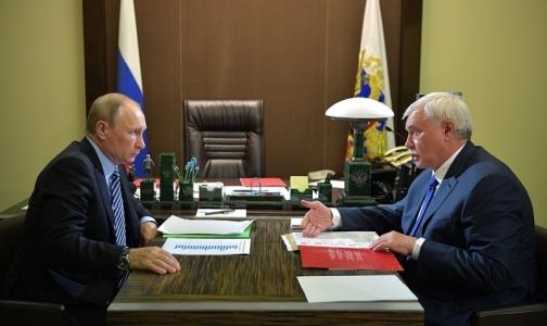 Фото №1 - Путин в октябре откроет Центр протонной терапии в Петербурге