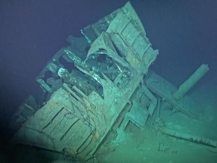 Фото №1 - Затонувший корабль найден на рекордной глубине