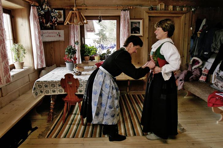 Фото №4 - Горные подкаблучники: традиции альпийского народа
