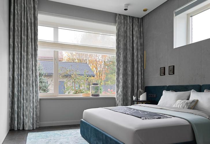 Фото №10 - Дом в Подмосковье 250 м² с камином и большими окнами