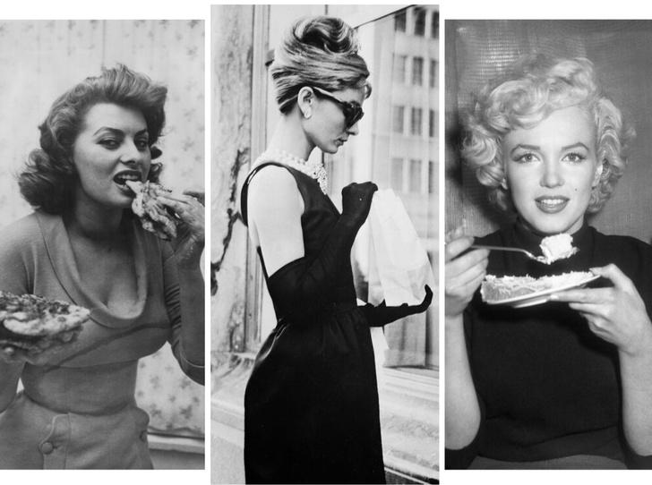 Фото №1 - Рецепты Голливуда: любимые блюда Мэрилин Монро, Одри Хепберн и Софи Лорен
