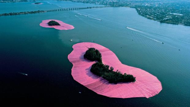 Фото №4 - Плавучий пирс, розовые острова и другие работы Христо