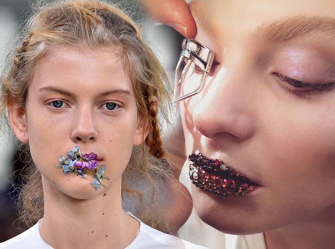 Фото №1 - Стразы и наклейки на лице: новый beauty-тренд
