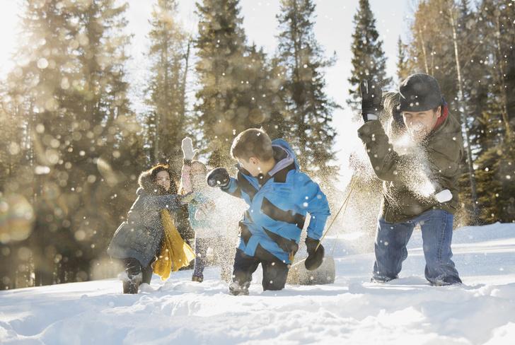 Зимние детские игры и забавы на свежем воздухе