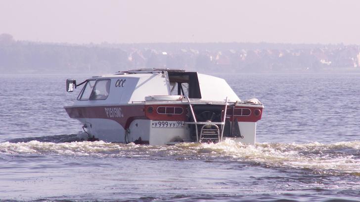 У «Тритона» двойная госрегистрация и как у автомобиля, и как у катера