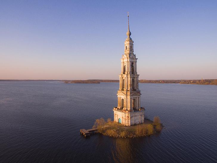 Фото №1 - Затопленная колокольня