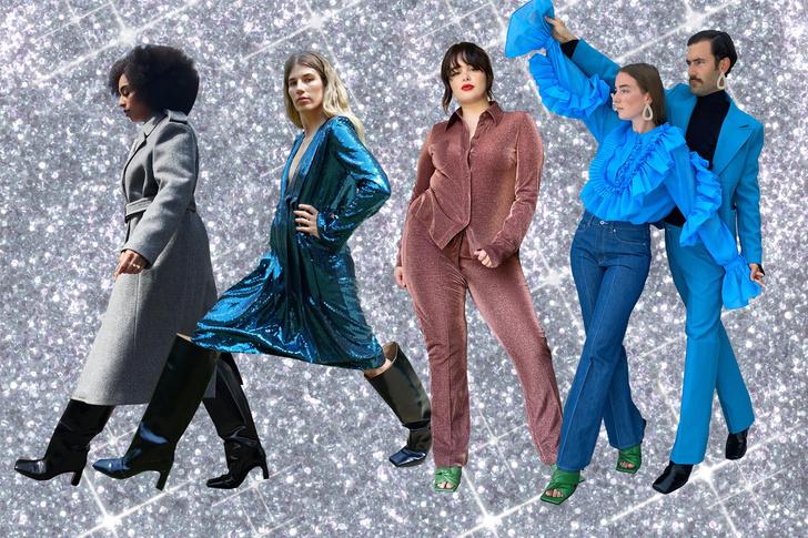 Фото №1 - В стиле диско: самые яркие образы из коллекции H&M Studio FW 2020