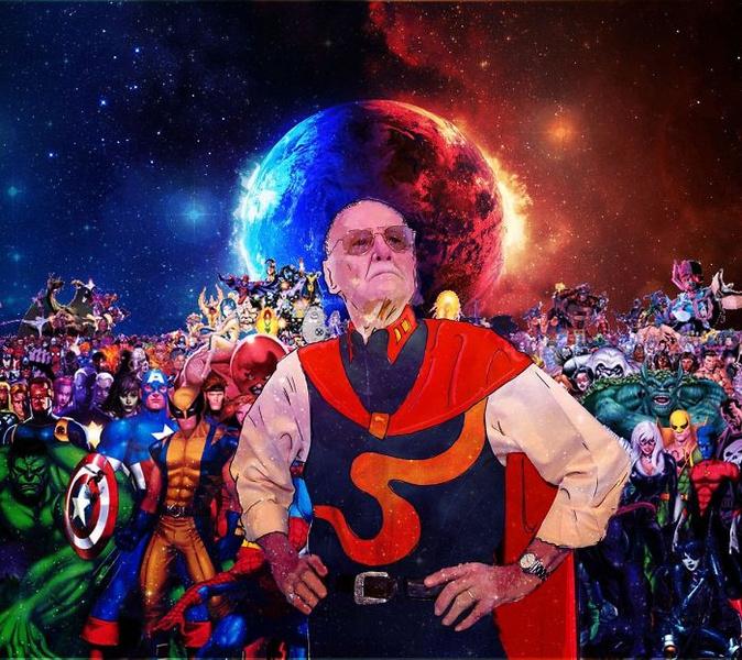 Фото №5 - Так трогательно: фанаты Marvel нарисовали комиксы в память о Стэне Ли
