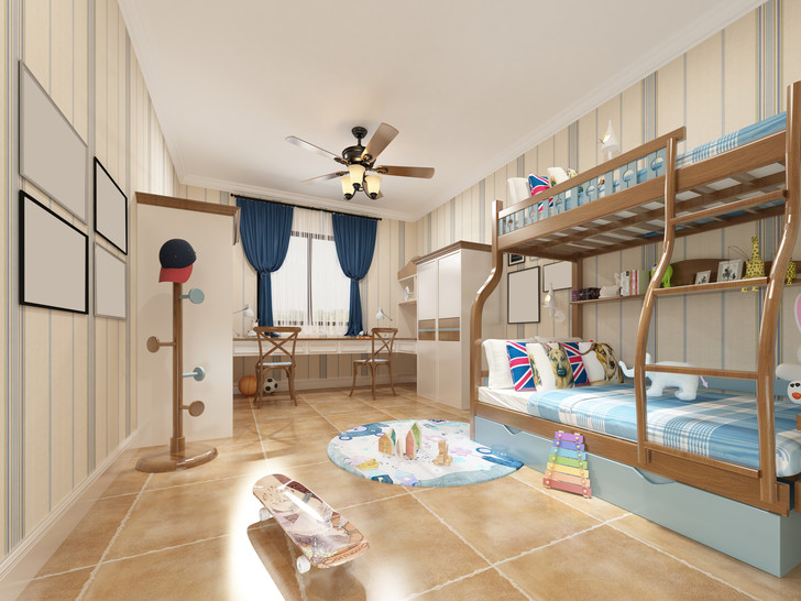 Фото №13 - Как обустроить комнату для разнополых детей: 14 примеров с фото