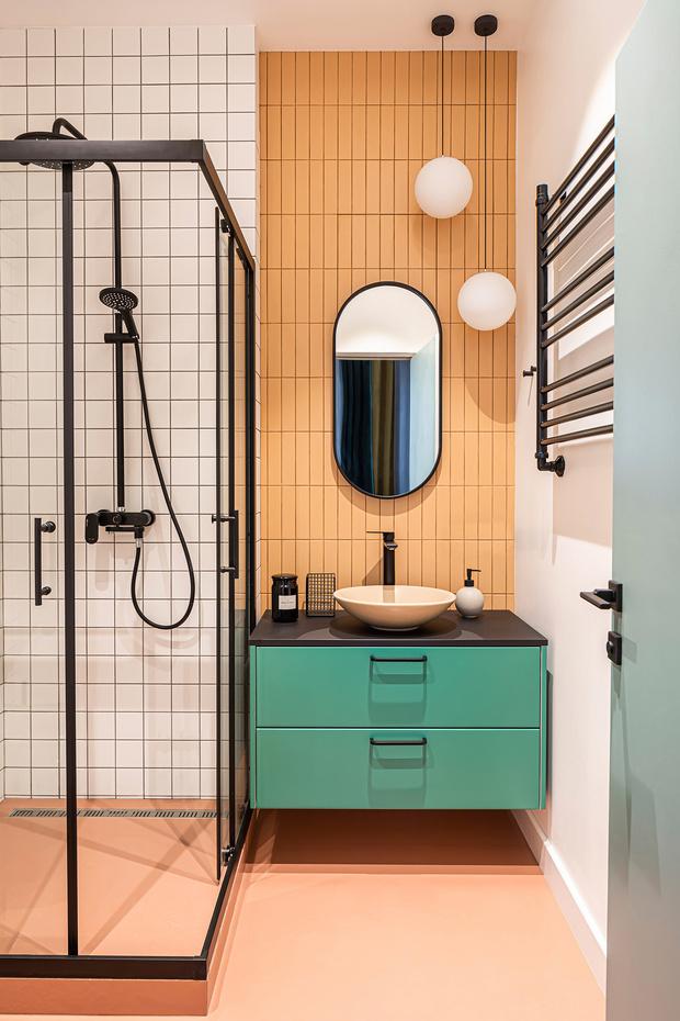 Фото №2 - Вопрос эксперту: контрастная затирка для плитки в ванной