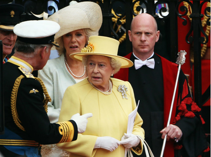 Фото №4 - Невеста с характером: чем Кейт шокировала Королеву в день своей свадьбы