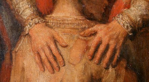 Фото №8 - Цвет любви: 9 загадок картины Рембрандта «Возвращение блудного сына»