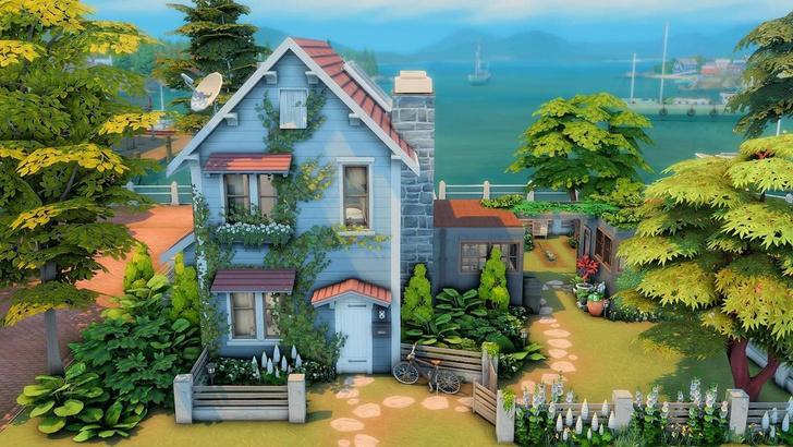 Фото №20 - 35 уютных домиков для «Симс 4», в которых ты сама захочешь поселиться