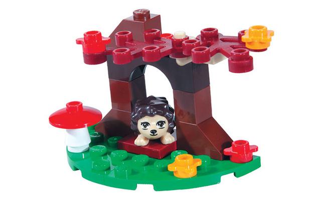 Фото №1 - Вышел в свет ноябрьский выпуск журнала «LEGO Friends»