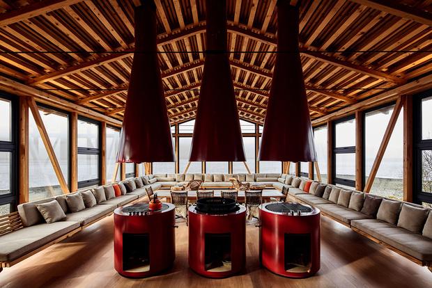 Фото №4 - Красный дом для барбекю в Чили