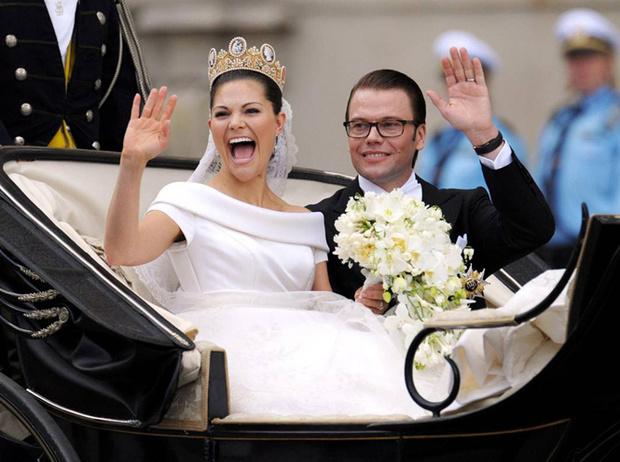 Фото №39 - Самые забавные моменты на королевских свадьбах (истории в фотографиях)