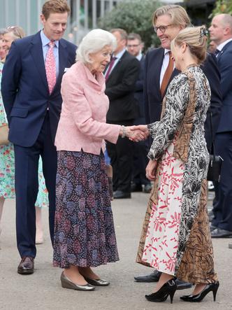Фото №4 - И на солнце есть пятна: новый выход и редкий модный провал любимой невестки Королевы