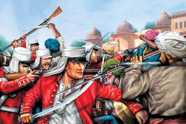 Фото №1 - Сипаи против империи