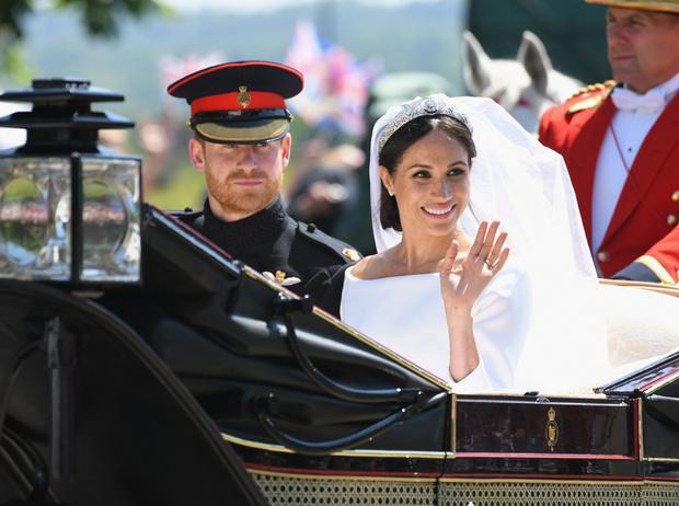 Фото №1 - Свадьба Меган Маркл и принца Гарри: как это было (видео, фото, комментарии)