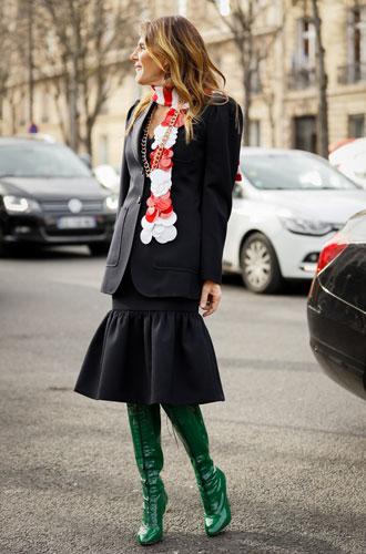 Фото №5 - С чем носить миди-юбки: 6 сочетаний, которые нужно попробовать