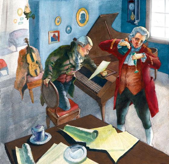 Фото №1 - Моцарт: убийство со многими неизвестными