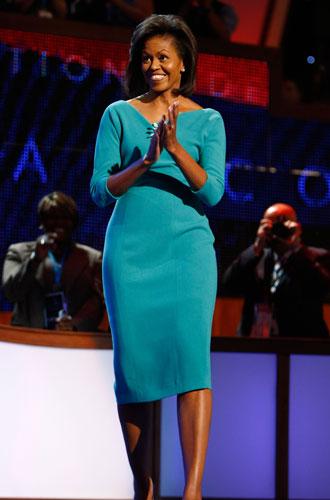 Фото №4 - От супруги президента к модной иконе: эволюция стиля Мишель Обамы