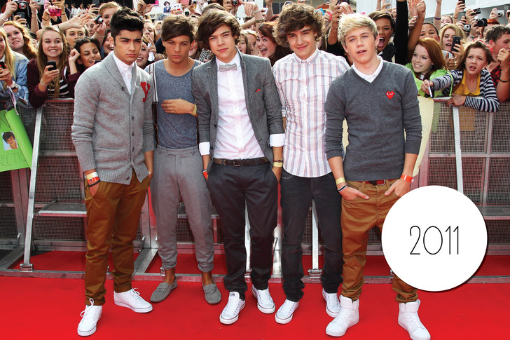 Фото №3 - Лучшие выходы One Direction за 5 лет