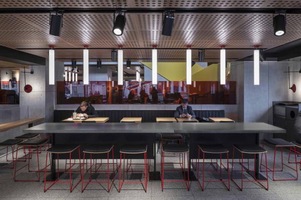 Фото №2 - «Макдоналдс» на Пушкинской— обладатель Sydney Design Awards 2020