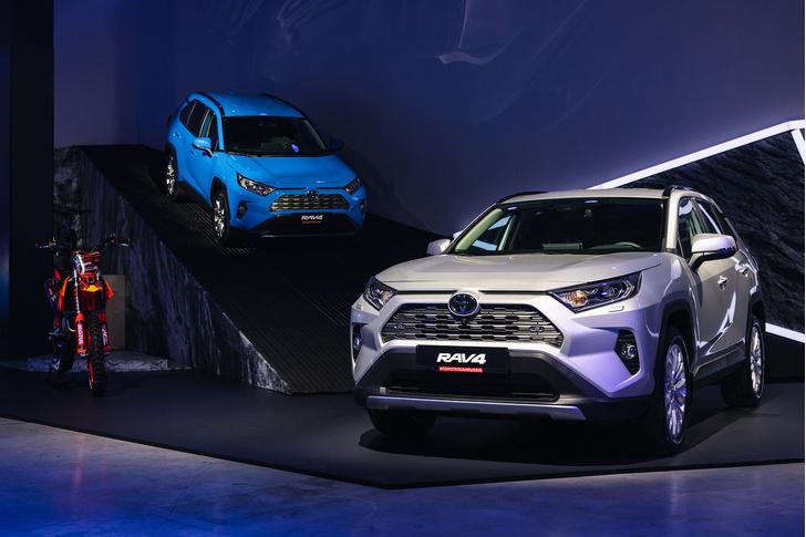 Фото №1 - Новый Toyota RAV4 представлен в Москве